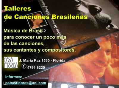 Talleres de canciones, compositores e intérpretes de Brasil