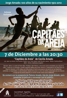 Jorge Amado, 100 años / Se estrena Capitanes de la arena