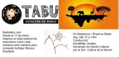 Os Bastidores se muda a Radio Tabú desde enero 2015