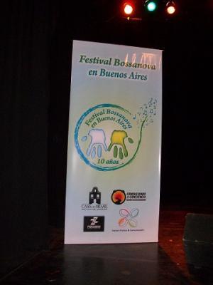 Comenzó el 10° Festival Bossa Nova en Bs As, muchos dias de música gratis