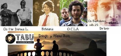 Más de lo nuevo y bueno musical que surge en Brasil y que pocas veces escuchamos por estos lados de la frontera