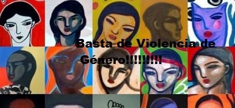 Basta de violencia de género, nos solidarizamos y pedimos ni una más.